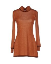 Blugirl Blumarine - Natural Turtleneck - Lyst