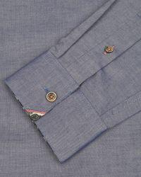 Ted Baker - Blue Oxford Shirt for Men - Lyst