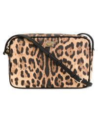 Dolce & Gabbana - Natural Leopard Print Crossbody Bag - Lyst