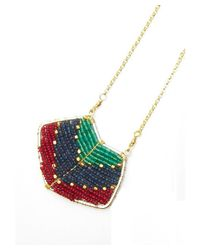 Nakamol - Multicolor Magdalene Pendant Necklace-red - Lyst