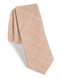 W.r.k. | Brown Plaid Tie for Men | Lyst