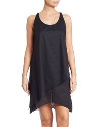 MICHAEL Michael Kors - Black Chain-embellished Stretch-jersey Dress - Lyst