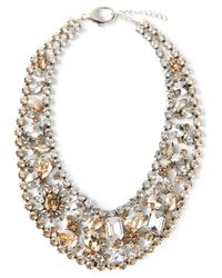 Marina Fossati | Metallic Crystal Embellished Choker Necklace | Lyst