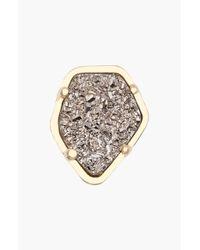 Kendra Scott - Metallic Stone Charm - Lyst