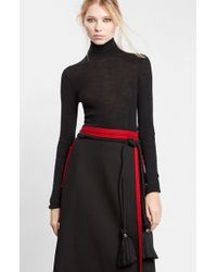Lanvin | Purple Knotted Rope Belt | Lyst