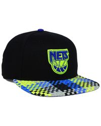 47 Brand - Black New Jersey Nets Hwc Ruffian Snapback Cap for Men - Lyst