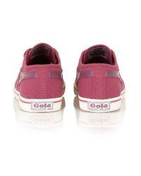 Gola | Purple Jasmine Canvas Pump Shoes | Lyst