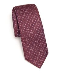 Ferragamo | Purple Gancini Silk Tie for Men | Lyst