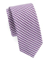 Original Penguin | Purple Checked Tie for Men | Lyst