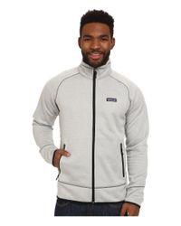 Patagonia White Tech Fleece Jacket for men