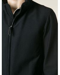 Giorgio Armani - Black Textured Sports Jacket for Men - Lyst