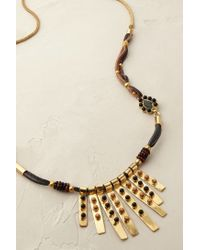 Blank NYC | Metallic Sunbeam Necklace | Lyst