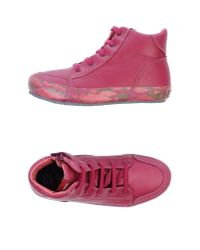 Camper - Red High-Tops & Trainers - Lyst