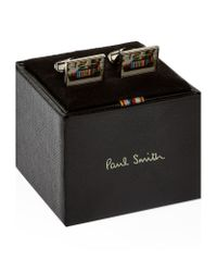 Paul Smith - Metallic Mini Photo Cufflinks for Men - Lyst