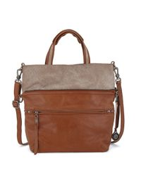 The Sak | Brown Brea Convertible Leather Tote | Lyst