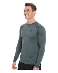 Asics | Green Seamless Long Sleeve for Men | Lyst