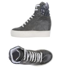 Lemarè | Gray High-tops & Trainers | Lyst