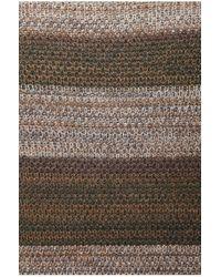 BOSS Orange - Brown 'kayne' | Virgin Wool Alpaca Blend Textured Sweater for Men - Lyst