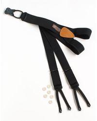 Trafalgar - Black Regal Formal Suspenders for Men - Lyst