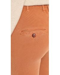 The Great - Brown The High Rise Slacks - Lyst