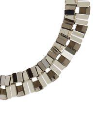 Jaeger | Black Fine Chain Lariat Necklace | Lyst