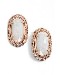 Kendra Scott | Metallic 'elaine' Stud Earrings | Lyst