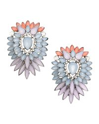 H&M | Metallic Large Sparkly Earrings | Lyst