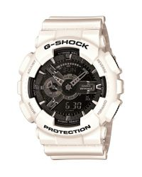 G-Shock | White 'x-large Ana-digi' Watch | Lyst