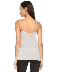 Equipment - Gray Cashmere Layla Tank - Lyst