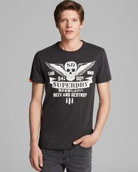 Superdry | Black Wings Rocket Tee for Men | Lyst