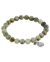 Chan Luu - Natural 7 1/2' Labradorite Stretchy Single Bracelet for Men - Lyst