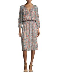 Joie - Multicolor Pasclina Multi-floral Printed Dress - Lyst
