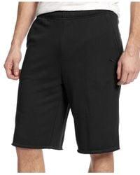 PUMA | Black Sweat Shorts for Men | Lyst