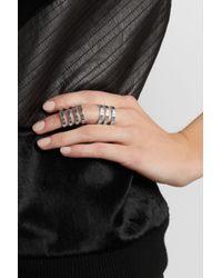 Repossi | Metallic Berbère Sterling Silver Ring | Lyst