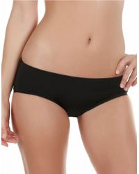 Felina | Black Body Luxe Hipster Panty | Lyst