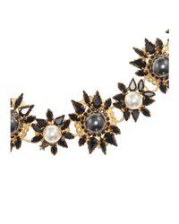 Erdem - Black Crystal-Embellished Necklace - Lyst
