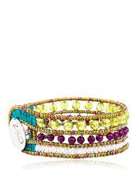 Ziio | Green Rock High Bracelet | Lyst