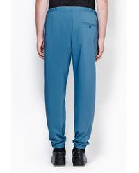 3.1 Phillip Lim - Blue Utility Pant With Side Zipper Detail for Men - Lyst