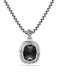 David Yurman | Labyrinth Small Pendant With Black Onyx | Lyst
