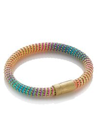 Carolina Bucci | Metallic Yellow Gold/rainbow Twister Bracelet | Lyst