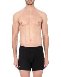 Lacoste | Black Piqué Cotton-blend Boxer Briefs for Men | Lyst