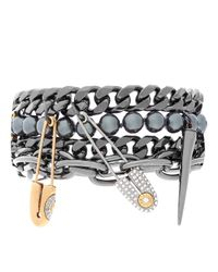 Henri Bendel - Metallic Hudson Kitchen Sink Bracelet - Lyst