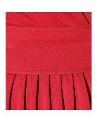 Roberto Cavalli - Red Floor-length Stretch-jersey Dress - Lyst