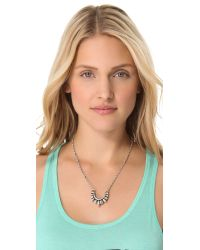 Pamela Love | Metallic Suspension Necklace | Lyst