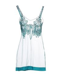 La Perla - Blue Slip - Lyst
