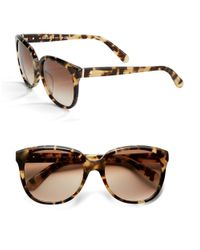 kate spade new york | Brown Baylee 53Mm Cat Eye Sunglasses | Lyst