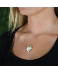 Jordan Alexander - Metallic White Fresh Water Baroque Pearl Necklace - Lyst