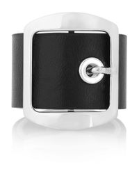 Givenchy | Black Woven Buckled Bracelet | Lyst