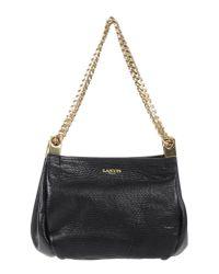 Lanvin - Black Handbag - Lyst