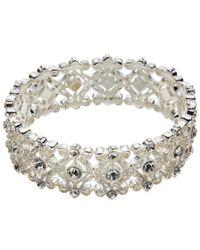 John Lewis | Metallic Filigree Stretch Bracelet | Lyst